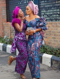 choose the ankara iro and blouse style you like most