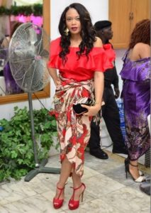 ankara one piece wrapper and blouse outfit for young ladies