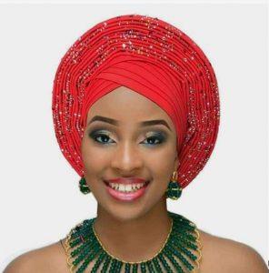 ankara auto gele head wear for classy ladies, church and wedding style