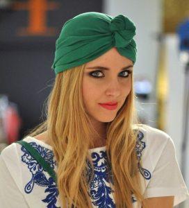 simple but cute ankara turban auto head wear