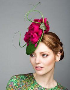 floral ankara headpiece style d