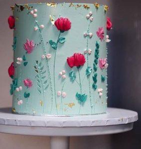 birthday and wedding cake decoration idea 6