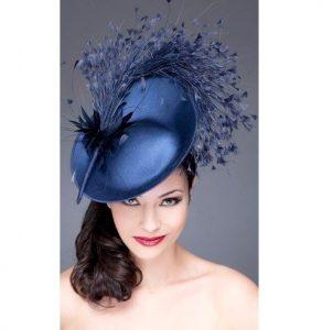 carnival ankara fascinator hat style