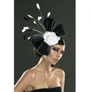 classy carnival fascinator headpiece style