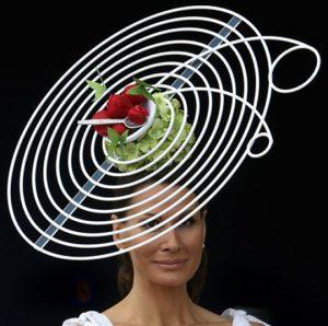 funny but cute fascinator headpiece style