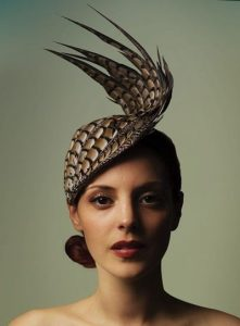 eagle wings shaped fascinator headpiece style for carnival