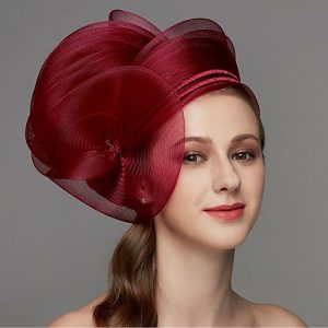 unique fascinator hat design for beautiful ladies
