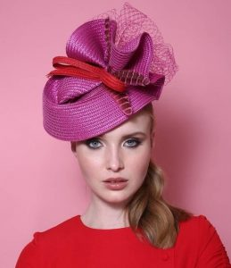 celebrity ladies fascinator hat style for different occasion