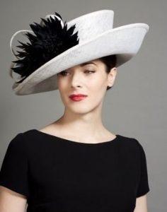 Ladies cowboy fascinator hat style