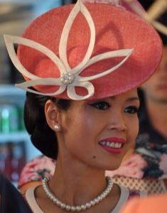 fascinator headpiece styles for royalties
