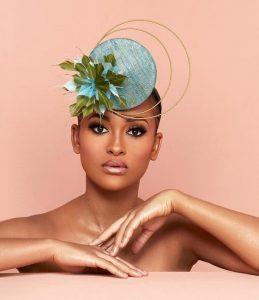 cute bridal fascinator headpiece style