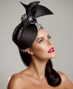beautiful fascinator head wear for brides