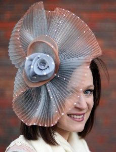 wedding fascinator headpiece style