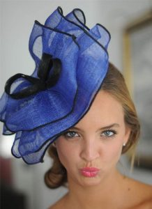 cute fascinator headpiece style for wedding