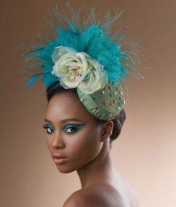 bridal fascinator headpiece style