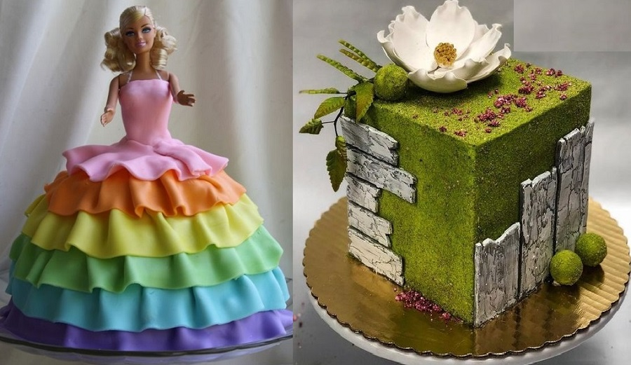 how to bake and decorate birthday and wedding cakes