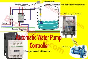 how to connect and install automatic water pump controller in your home