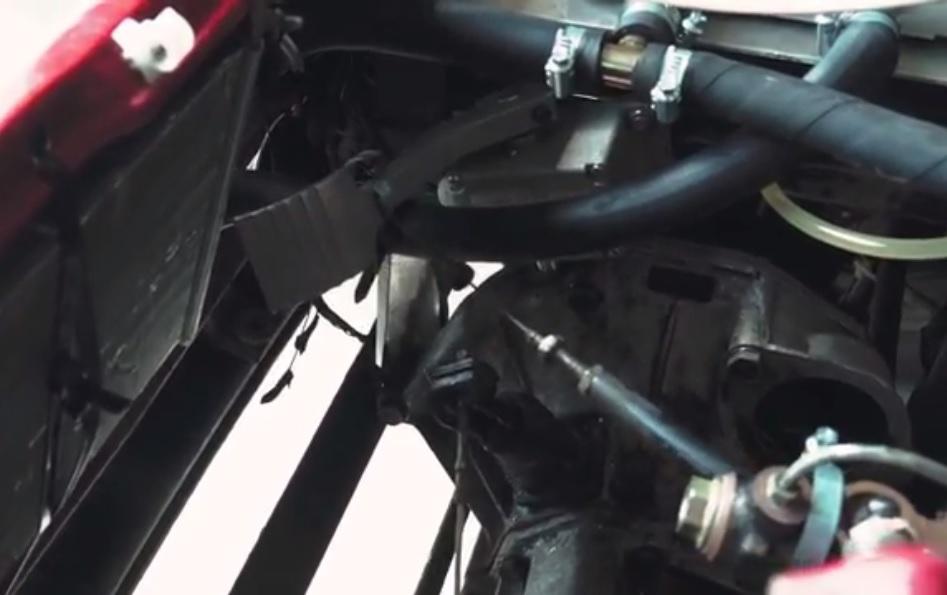 Installing the throttle