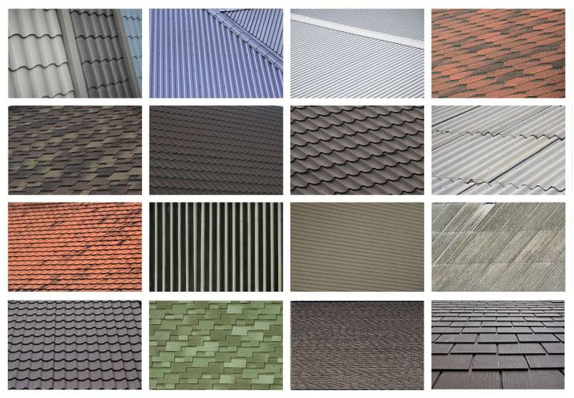 Popular roof pan types and structures