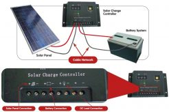 step by step guide on how to connect solar panels and batteries to charge controller