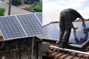 step by step guide on how to mount solar panels on roof tops and standalone structures